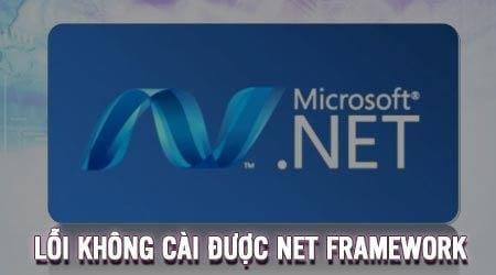 khong cai duoc net framework sua nhu the nao
