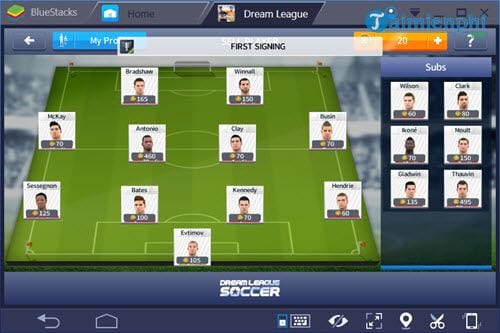 t i game hack dream league soccer 2019 cho android
