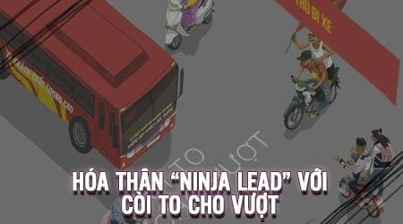 game coi to cho vuot hoa than ninja di xe lead vuot chuong ngai vat