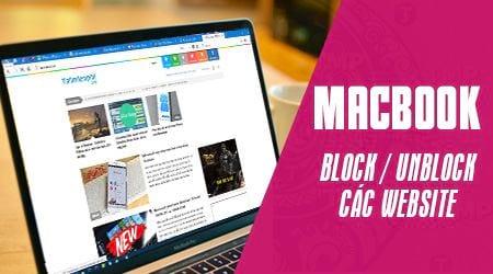 cach chan website tren macbook block vs unblock