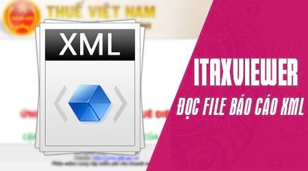doc file bao cao thue xml bang itaxviewer