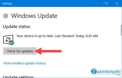 Windows 10 update quá lâu là do lỗi gì? cách khắc phục? 5