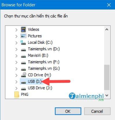 Sửa USB bị lỗi không mở được file 11