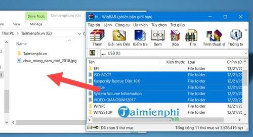 Sửa USB bị lỗi không mở được file 8