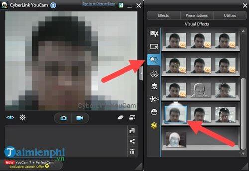 Cách tạo hiệu ứng webcam bằng CyberLink YouCam