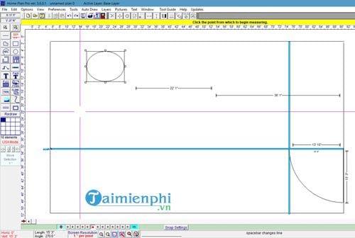 Cách vẽ sơ đồ nhà, thiết kế nhà bằng Home Plan Pro 8