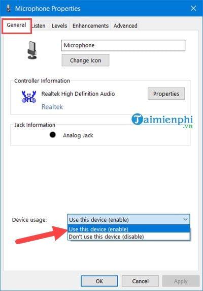 Kiểm tra Microphone, Headphone trên Windows 10, 8, 7 14