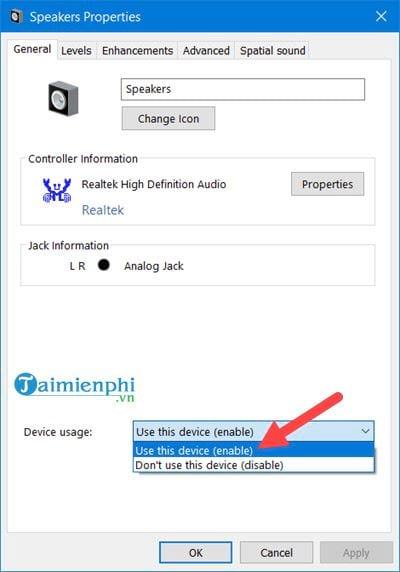 Kiểm tra Microphone, Headphone trên Windows 10, 8, 7 20