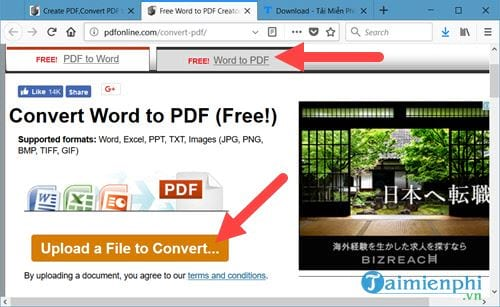 Top 4 websites to convert words to pdf in the free web 7