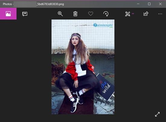 How to insert logo into online photos on online 10