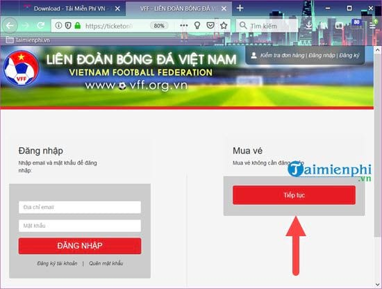 How to buy back to watch the Vietnam Cup 2018 competition at my palace 8