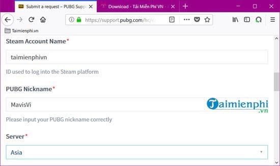 Lấy lại tài khoản PUBG Steam khi bị ban, phục hồi tài khoản PUBG bị bl