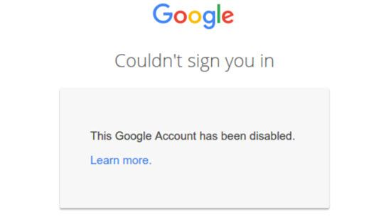 tai khoan gmail bi khoa la do dau