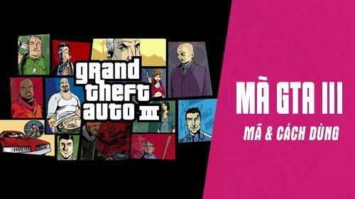 Mã GTA III, lệnh cheat trong game