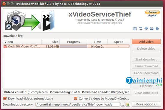 cach cai va su dung xvideoservicethief tren linux mint ubuntu 12