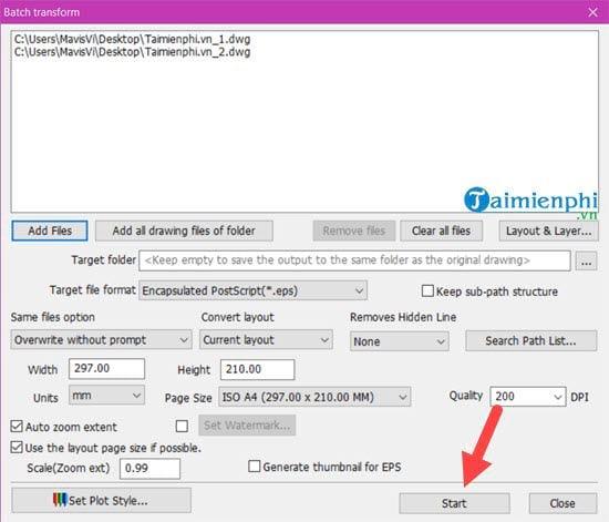 Sửa lỗi khi mở file DWG trong CorelDRAW