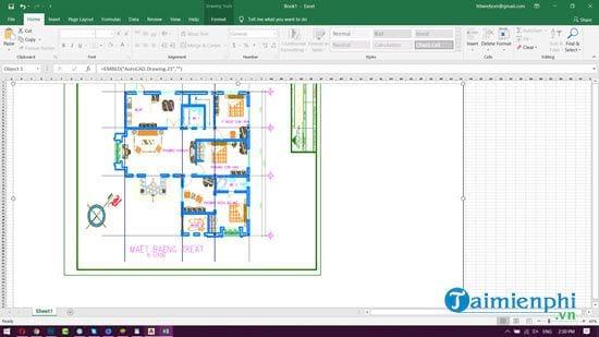 Hướng dẫn copy hình ảnh từ AutoCAD sang Word, Excel