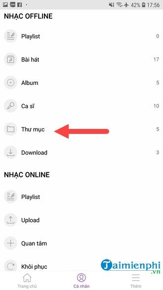 How to play all songs in zing mp3 3