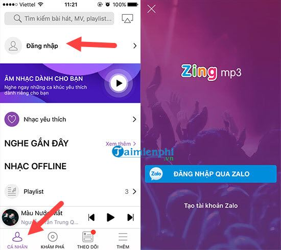 your music on zing mp3 9