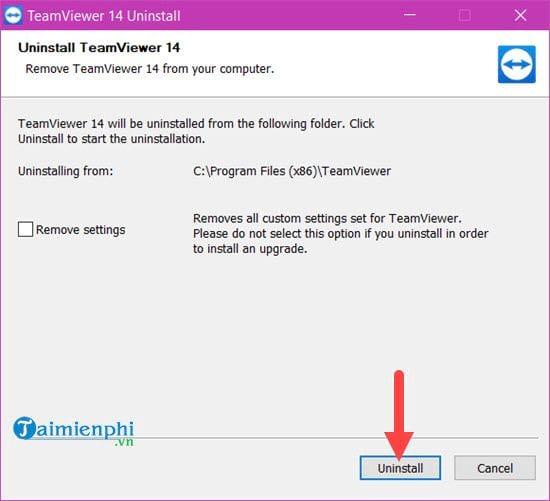 Cách thay đổi ID TeamViewer khi bị block giới hạn 5 phút