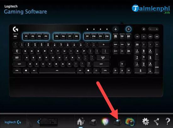 Cách sử dụng Logitech Gaming Software, dùng Logitech Gaming Software t