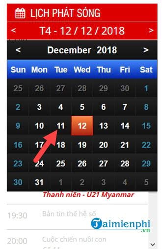 See Vietnam and Malaysia again on December 11, where 5