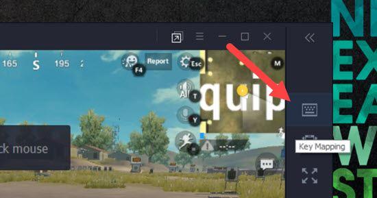 Thiết lập bàn phím ảo chơi PUBG Mobile trên Tencent Gaming Buddy