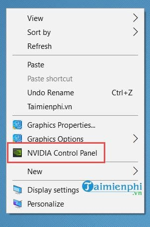 Cách sửa lỗi Nvidia Display setting are not available 11