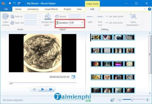 Cách tạo video từ ảnh trên Windows 10 bằng Windows Movie Maker 10