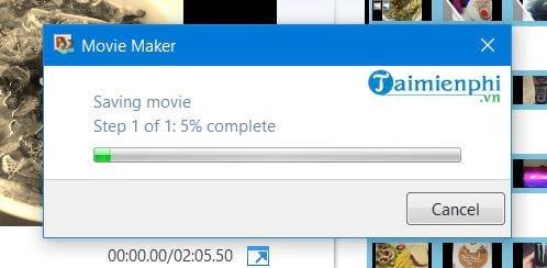 Cách tạo video từ ảnh trên Windows 10 bằng Windows Movie Maker 14