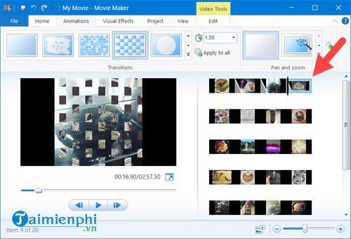 Cách tạo video từ ảnh trên Windows 10 bằng Windows Movie Maker 8