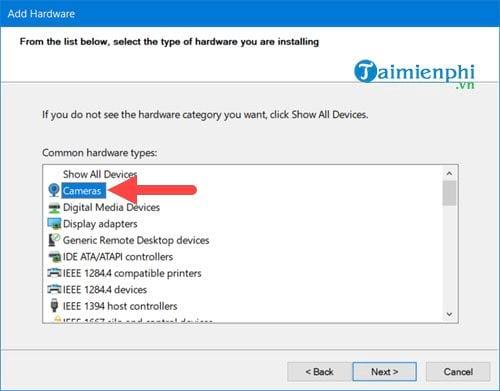 Sửa lỗi Webcam không hoạt động trên Windows 10 PC 7