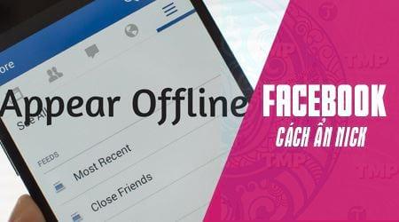 cach an nick facebook tren dien thoai iphone