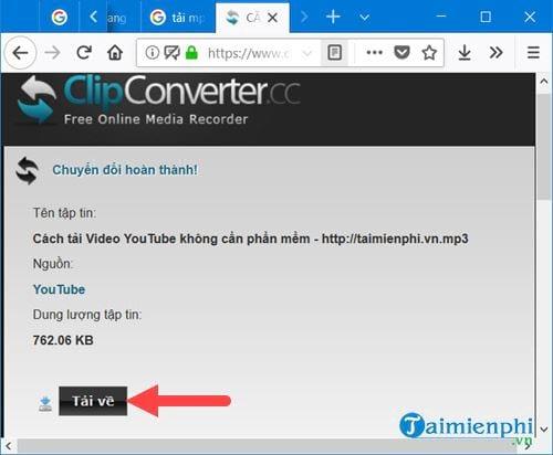 Cách tải nhạc trên Youtube thành MP3 14