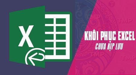 su dung autorecover excel khoi phuc file bi tat may dot ngot