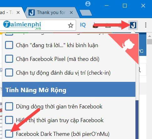 thay doi theme giao dien facebook tren chrome 5