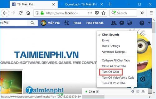 Cách tắt trò chuyện trên Messenger 2