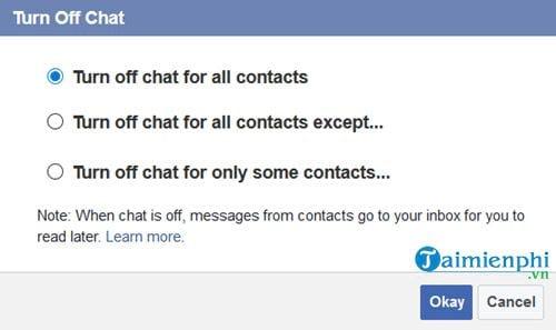 Cách tắt trò chuyện trên Messenger 3