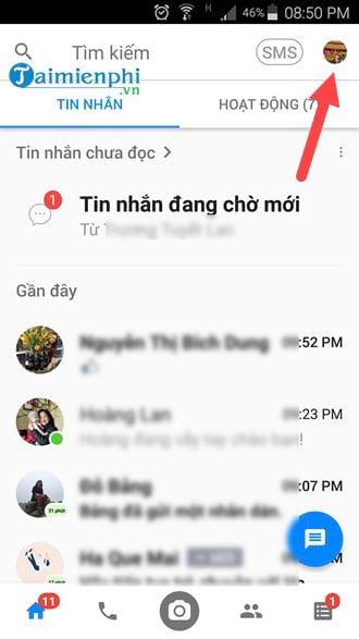 Cách tắt trò chuyện trên Messenger 8