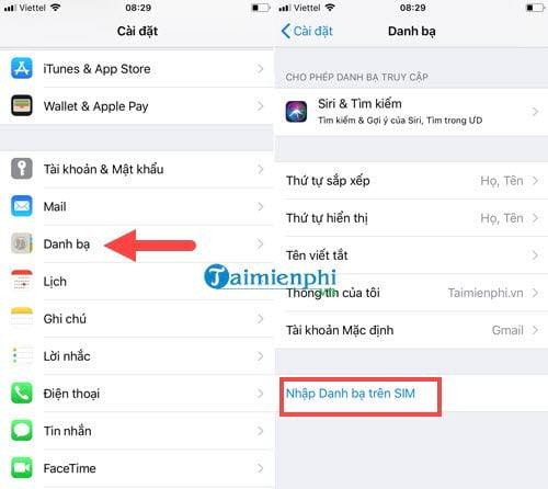 Cách sao lưu khôi phục danh bạ điện thoại từ Gmail 4