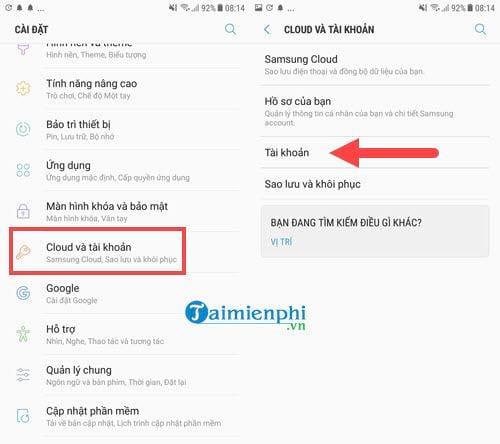 Cách sao lưu khôi phục danh bạ điện thoại từ Gmail 6