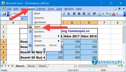 Cách vẽ biểu đồ hình cột trong Excel 2019, 2016, 2013, 2010, 2007, 2003 26