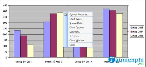 Cách vẽ biểu đồ hình cột trong Excel 2019, 2016, 2013, 2010, 2007, 2003 34