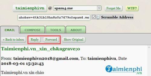 Cách tạo Email ảo đơn giản 11