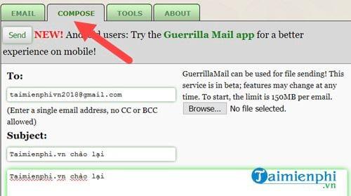 Cách tạo Email ảo đơn giản 12
