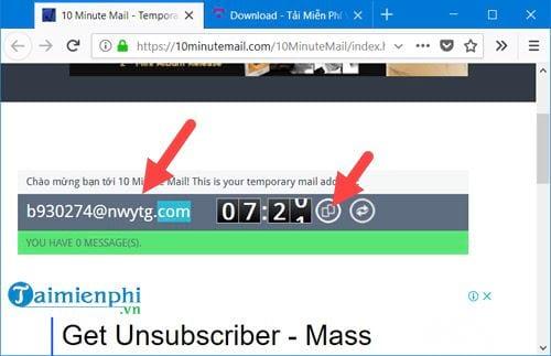 Cách tạo Email ảo đơn giản 2