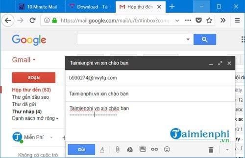 Cách tạo Email ảo đơn giản 3