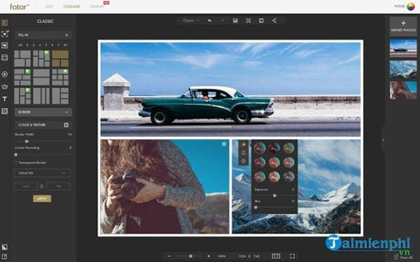Top beautiful online photo editor on computer 4
