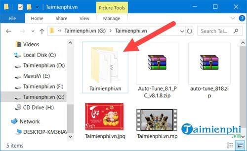 Cách hiện file ẩn trong Windows 10 3