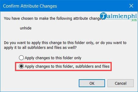 Cách hiện file ẩn trong Windows 10 6